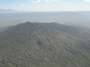 Aerial view of Mt. Longonot
