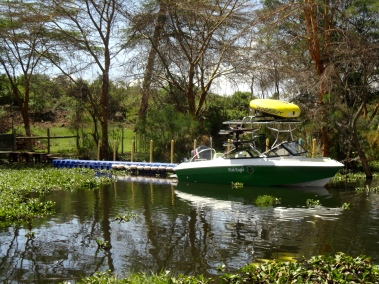 """Fish Eagle"" the speedboat"