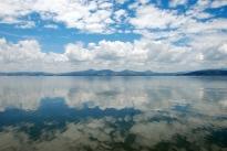 Calm on the lake