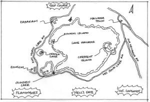 Ziwani Island map 1